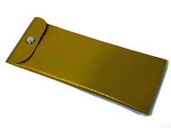 Gold curry coloured sunglasses case - Design nr. 1274