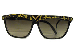 Black / yellow sunglasses - Design nr. 1638