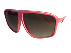 Cheap millionaire sunglasses in pink - Design nr. 1858