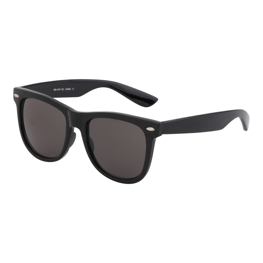 Large black wayfarer
