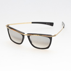Cheap sunsglasses with gold and mirror lenses - Design nr. 284