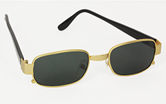 Masculine square sunglasses