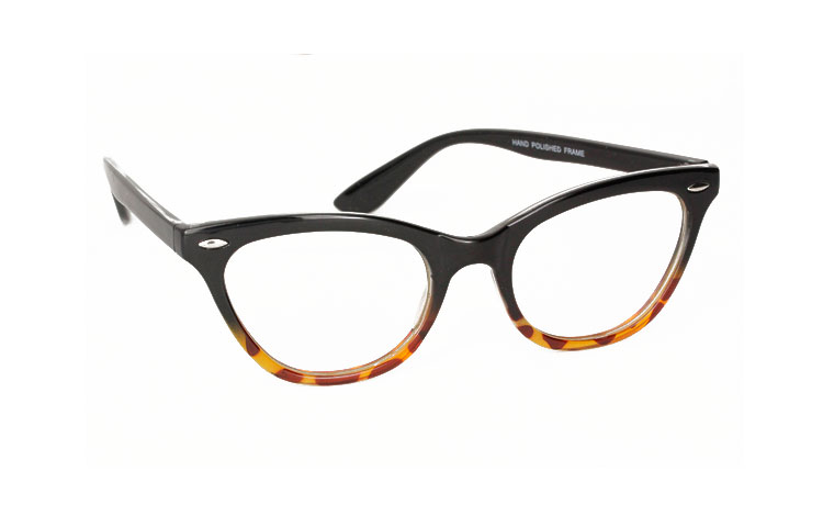 Cateye non-presciption glasses - Design nr. 3023