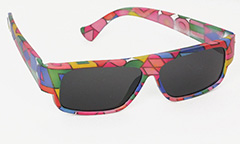 Colourful kids sunglasses - Design nr. 3032