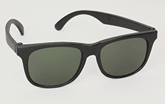 Wayfarer kids sunglasses in black - Design nr. 3038