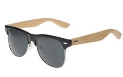 Clubmaster with bamboo - Design nr. 3042