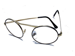 Round glasses with clear lenses - Design nr. 305