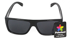 Black polaroid sunglasses - Design nr. 3076