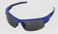 Blue golf sunglasses