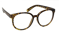 Smart sunglasses wth leopard pattern - Design nr. 3086