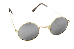 Round sunglasses with mirror lenses - Design nr. 309