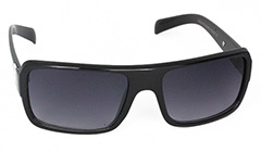 Black sunglasses with metal details