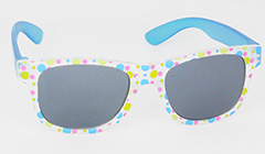Sunglasses for kids with blue rods
