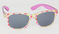 Sunglasses for kids with pink rods - Design nr. 3099