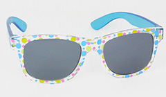 seethough sunglasses with polkadots - Design nr. 3100