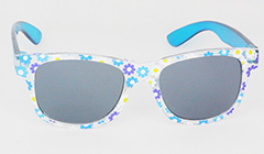 Sunglasses for kids with flower patterns - Design nr. 3101