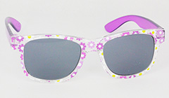 Girls sunglasses with flower patterns - Design nr. 3102