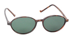 Maroon oval sunglasses - Design nr. 3104