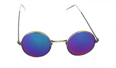 Round metal sunglasses for kids