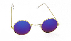 Gold metal sunglasses for kids - Design nr. 3109