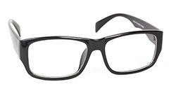 Black robust mens glasses ( non-prescription ) - Design nr. 3126