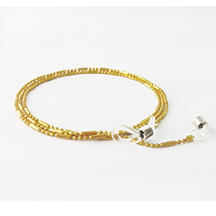 Gold-coloured glasses cord - Design nr. 3167