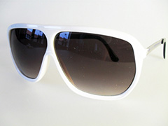 Cheap white aviator sunglasses