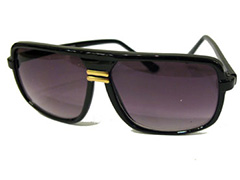 Black macho sunglasses for men