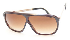 Beautiful brown aviator sunglasses