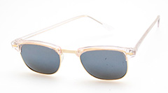 Clubmaster with rose shades - Design nr. 404