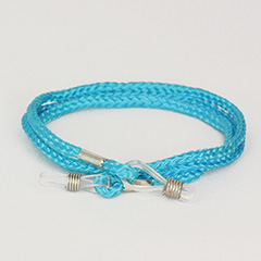 Baby blue glasses cord - Design nr. 419