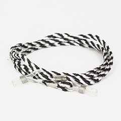 Zebra striped glasses cord - Design nr. 420