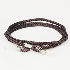 Cheap dark brown glasses cord - Design nr. 432