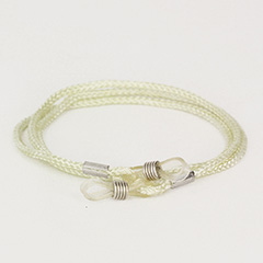 Cream cheap eyeglass cord