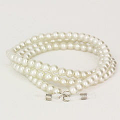 Pearl necklace spectacle string - Design nr. 435