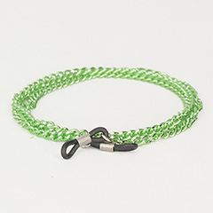 Green glasses chain in metal - Design nr. 437