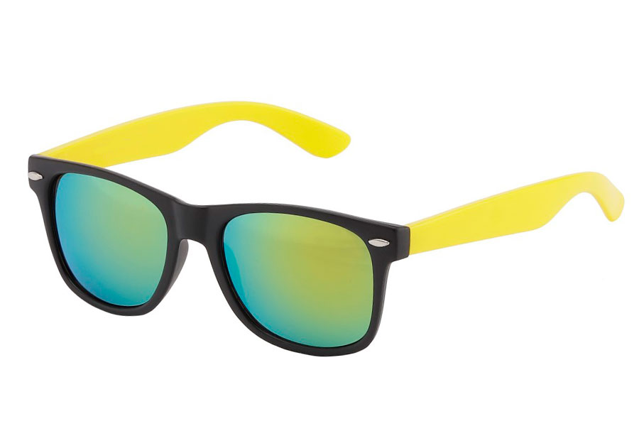 Black and yellow sunglasses - Design nr. 568