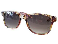 Wayfarer with pattern