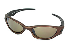 Sports sunglasses in bronze - Design nr. 642