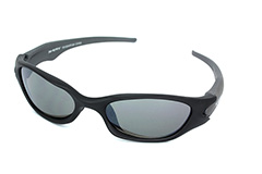 Black mens sport sunglasses - Design nr. 643