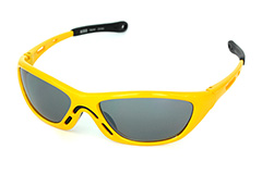 Yellow, gorgeous sport sunglasses - Design nr. 651