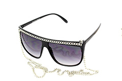 Rihanna / Lady Gaga sunglases with chain - Design nr. 684