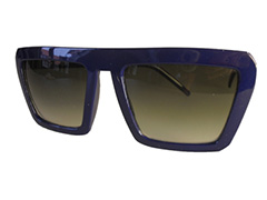 Blue edged Cartoon sunglasses