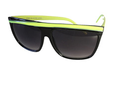 Black and yellow sunglasses - Design nr. 844