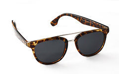 Tortoiseshell Brown sunglasses with metal details - Design nr. 881