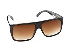 Classic brown sunglasses in simple design