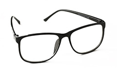 Black glasses in simple square design