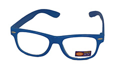 Non prescription child glasses, blue wayfarer