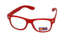 Non prescription child glasses, red - Design nr. 939