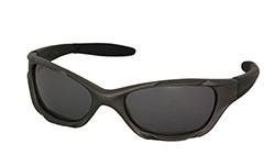 Mens sunglasses in sporty look, grey/brown - Design nr. 988